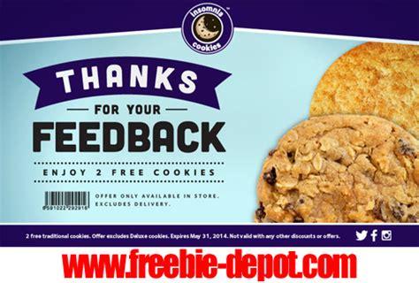 Insomnia Cookies Gift Card - freebie hotlist free stuff for may 11 2014 freebie depot