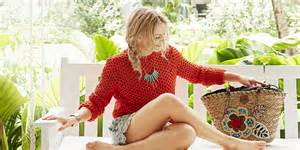 Ideas For Decorating A Girls Bedroom jennifer morrison s summer style beach inspired fashion