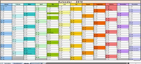 Kalender 2016 Shop Arbeitszeiterfassung 2016 Excel Vorlagen Shop