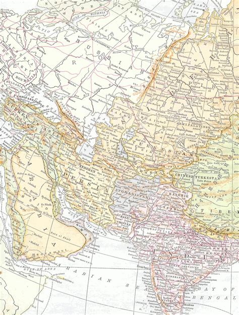 free mapping antique images free map clip vintage map of middle