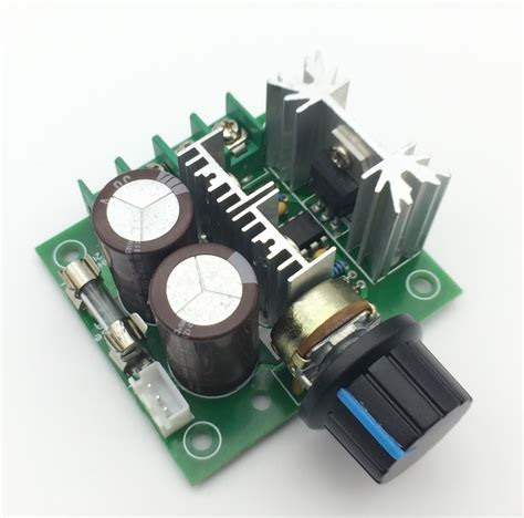 Dc 10 40v 5a Pwm Pulse Width Dc Motor Speed Controller Switch width modulation dc 12v 40v 10a pulse pwm dc motor speed switch new in integrated