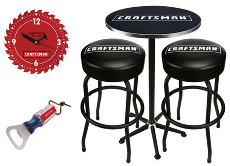 Craftsman Bar Stool And Table Set by 2012 Gift Review Craftsman Pub Table
