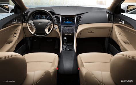 Hyundai Sonata 2014 Interior by Automotivetimes 2014 Hyundai Sonata Review