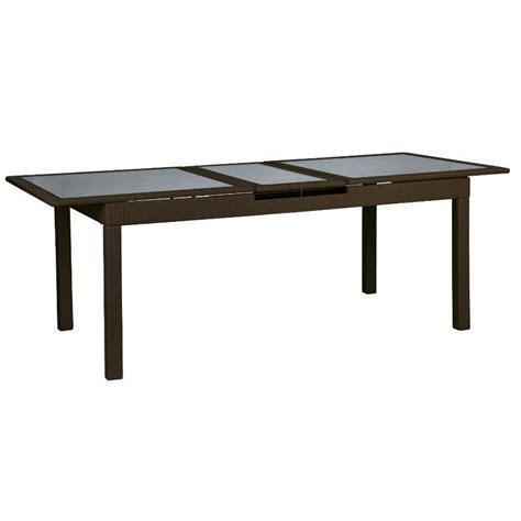 tavoli allungabili outlet tavolo polyrattan allungabile etnico outlet mobili etnici