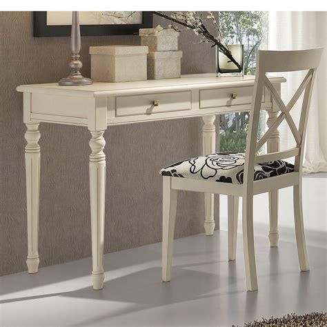 mesa escritorio clasica mesa escritorio con 2 cajones patas torneadas haya