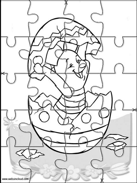 printable jigsaw puzzles to colour winnie the pooh printable puzzle 21