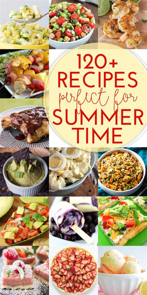 120 delicious recipes for summer yummy healthy easy