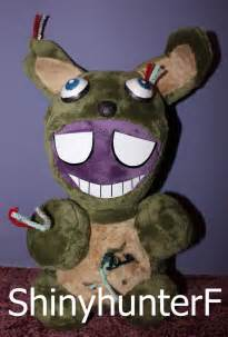 For sale purple guy springtrap plush by shinyhunterf on deviantart