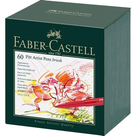 acrylic paint faber castell pitt artist brush pen sets faber castell jerry s artarama