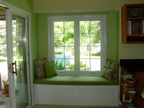 Home Designer Pro Bay Window Refreshing Green Nuance Contemporary Sitting Space