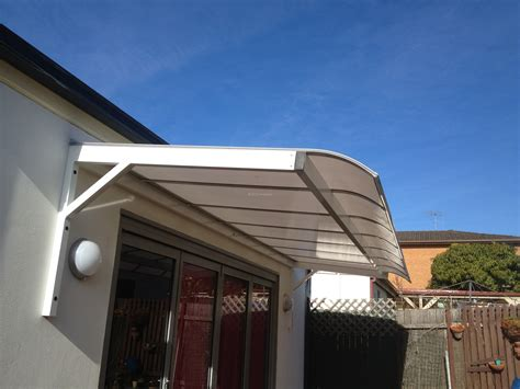 Bullnose Awnings by Canter Lever Wall Polycarb Awnings With A Bull Nose