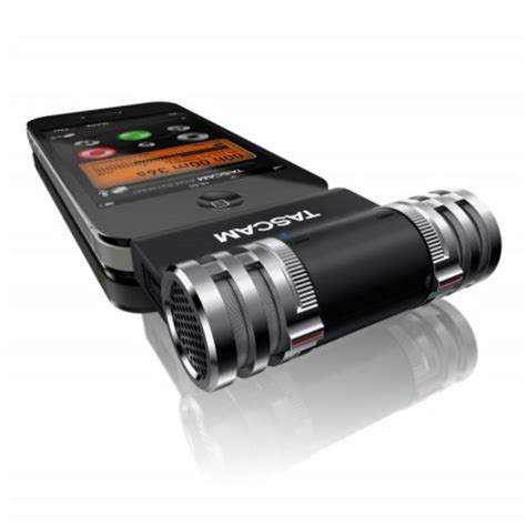 iphone microphone tascam im2 stereo condenser microphone for iphone at gear4music