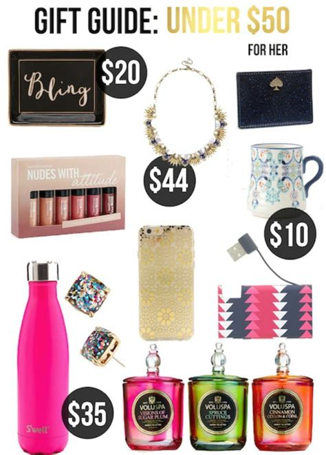 Gifts Under $50 For Her   Life With Emily