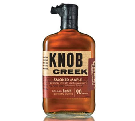 knob creek to release maple flavored bourbon the whiskey