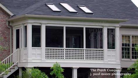 Hip Roof Porch Design Screen Porch Design Ideas For Your Porch S Exterior