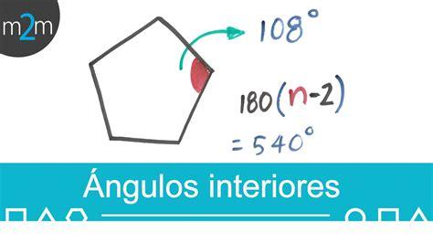 angulo interior de un poligono regular suma de los 225 ngulos interiores de un pol 237 gono