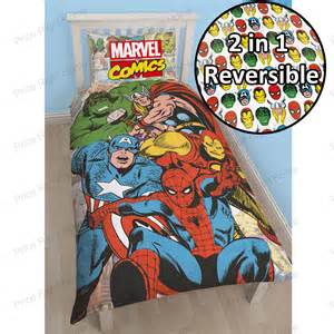 official marvel comics bedding bedroom