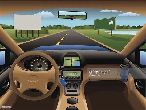 car dashboard modern car dashboard vector getty images