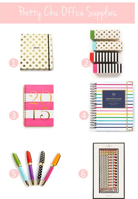 chic office supplies 3 things you need now to set yourself up for success in