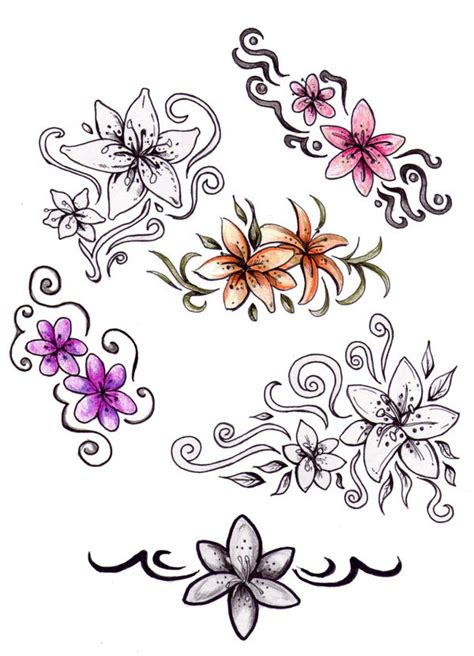 jasmine flower tattoo designs tattoo design and art
