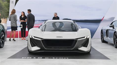 audi  tron gtr electric supercar  replace