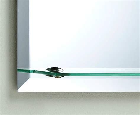 frameless contemporary bathroom mirror with shelf in bathroom wall mirror modern stylish arch with shelf and