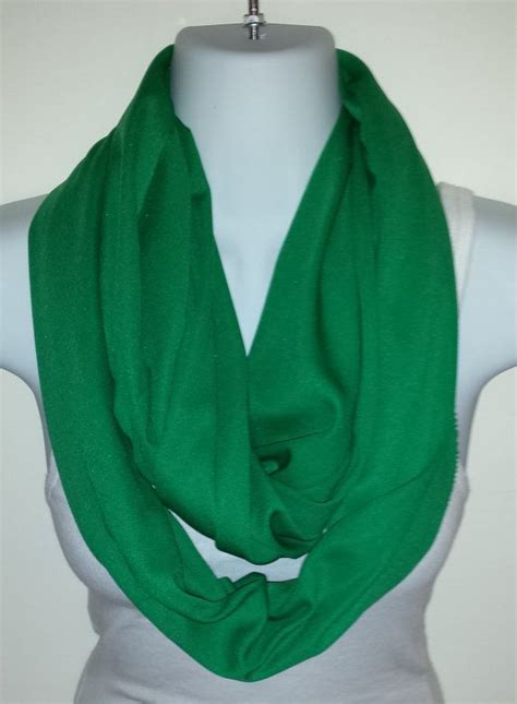 patricks day infinity scarf green scarf st pattys