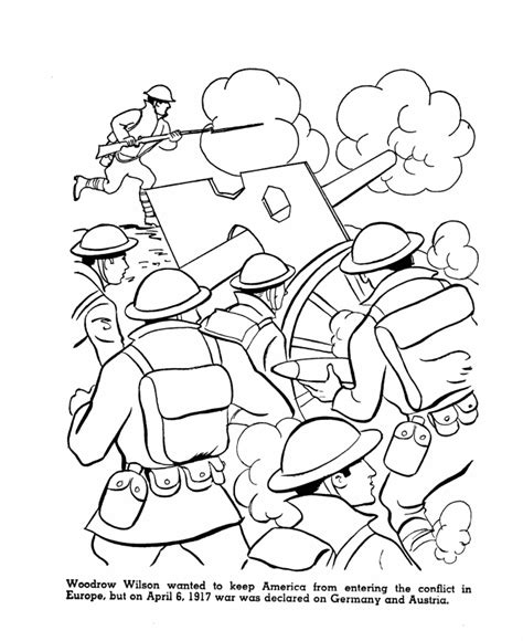 free coloring pages of world war 2