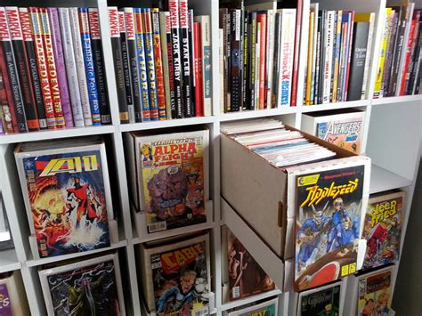 Comic Book Shelves | kleefeld on comics on fandom the kleefeld comics library