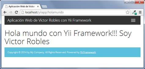 yii bootstrap layout main plantillas en yii framework victor robles victor robles