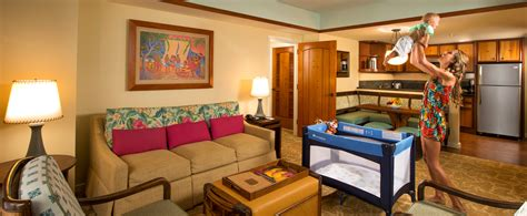 two bedrooms two bedroom villa aulani hawaii resort spa