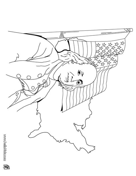 benjaminfranklin free colouring pages