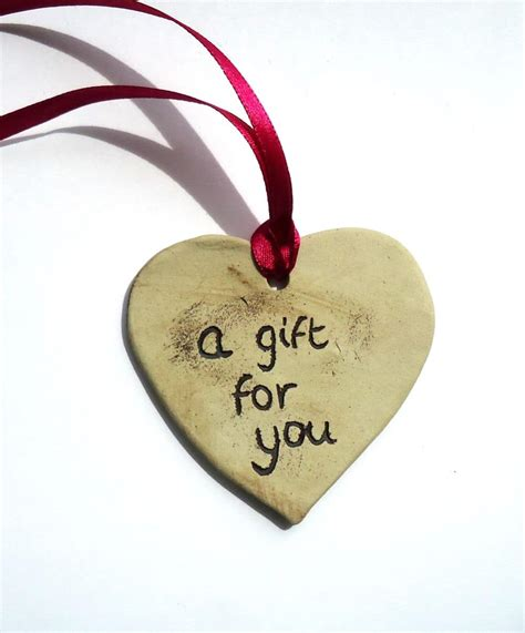 A For a gift for you ceramic tag hupfield ceramics