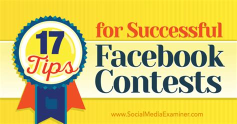 How To Run A Facebook Giveaway - how to run a successful facebook contest 17 tips sue cockburn growing social biz