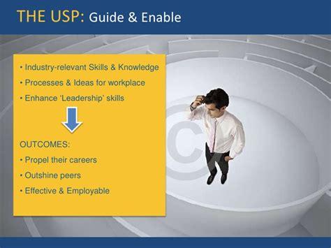 Mba Usp Program by E Mba Insights Key Communication Strategy