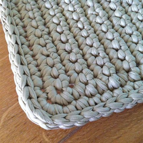 alfombra ganchillo alfombra crochet alfombras de crochet pinterest