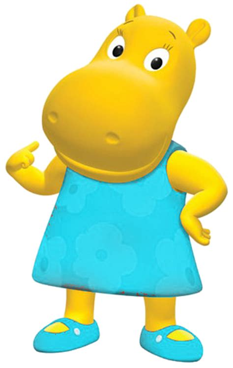Backyardigans Hippo Characters More Png