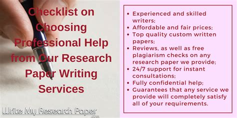 Write My Papers by Who Can Help Me To Write My Research Paper
