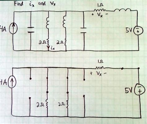 steady state voltage drop across capacitor capacitor open circuit steady state 28 images kirchhoff s current and voltage laws
