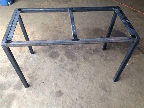 metal frame table base rustic table legs square metal industrial frames custom