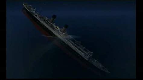 titanic film youtube sinking titanic sinking 3d youtube