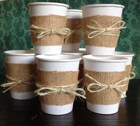 Papercup Wedding by Burlap Cups For A Wedding Shower Bridal Shower Wedding