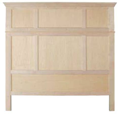 Unpainted Headboards by Unfinished King Headboard Unfinished Furniture