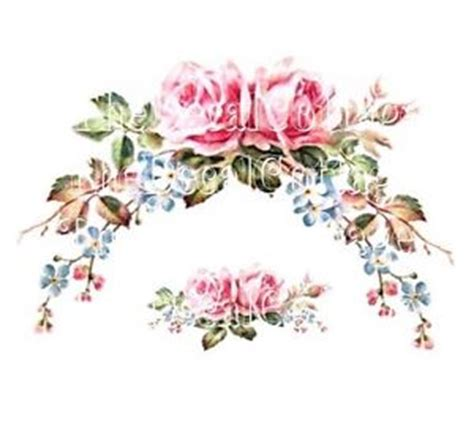 shabby chic decals pretty vintage chic pink swag and garland decals