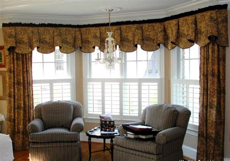 valance curtains for living room window treatments