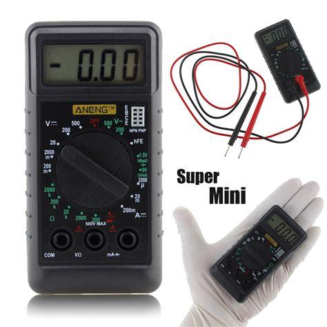 Multimeter Digital Mini mini digital multimeter pocket dmm ac dc current voltage