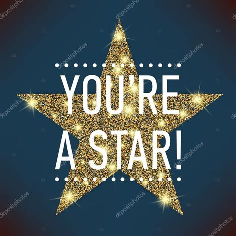 Cool Stock by You Re A Star Glitter Star Stock Vector 169 Masha