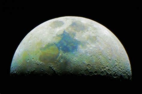 imagenes de lunas oscuras color lunar aristarco org astronom 237 a ciencias