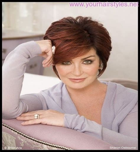 back view of sharon osbourne haircut new sharon osbourne hairstyles 2014 4 jewelry
