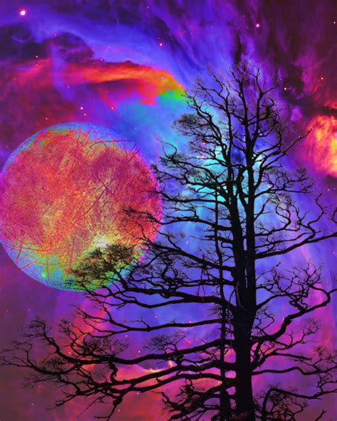 colorful moon wallpaper galaxy via tumblr image 792338 by marco ab on favim com
